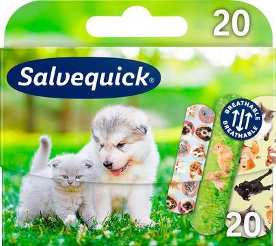 Salvequick Animal Planet Plåster, 20 st