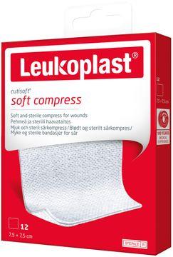 Leukoplast Cutisoft Kompresser 7,5x7,5