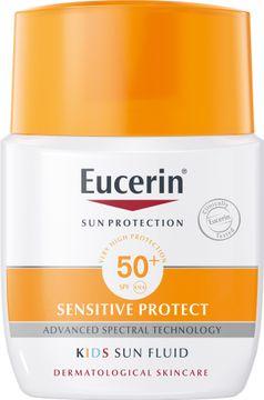 Eucerin Kids Sun Fluid SPF 50+ Solskydd för barn, 50 ml