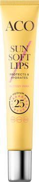 ACO Sun Soft Lips SPF 25 Läppglans med SPF, 12 ml