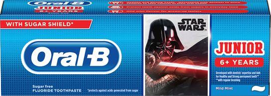 Oral-B Junior Star Wars Tandkräm för barn. 75 ml