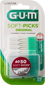 GUM Soft-Picks Original Regular Interdentalsticka, 50 st