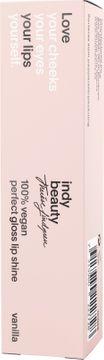Indy beauty Lip Shine vanilj 10ml