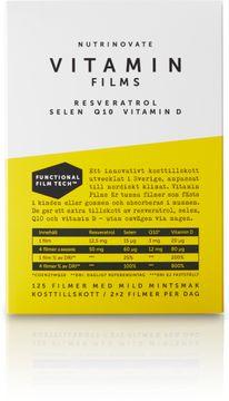 Nutrinovate Nutrinovate Vitamin Films Multivitaminfilmer 57 g