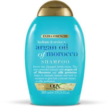 OgX Argan Extra Strength Shampoo Shampo, 385 ml