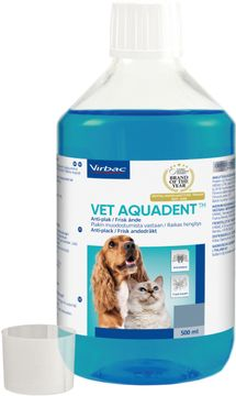 Vet Aquadent Anti-plack lösning 500 ml
