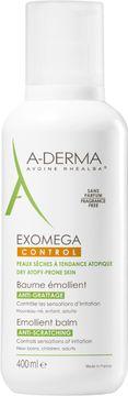 A-Derma Exomega Control Balm Hudkräm för mycket torr hud. 400 ml