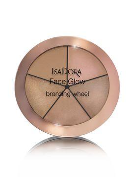 Isadora Face Glow Bronzing Glow Wheel Beach Face Glow Bronzing Wheel, 18 gram