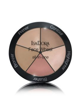 Isadora Face Wheel All In One All-in-one Face wheel all-in-one 40, 18 gram