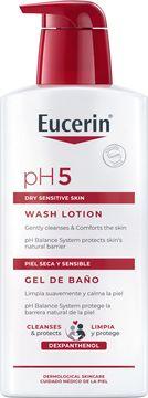 Eucerin pH5 Washlotion Krämtvål, 400 ml