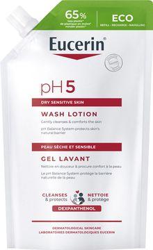 Eucerin pH5 Washlotion refill Krämtvål, 400 ml