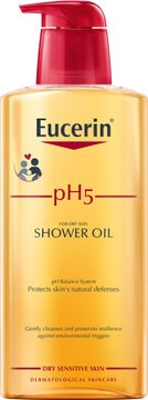 Eucerin pH5 Shower Oil Duscholja, 400 ml