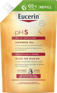 Eucerin pH5 Shower Oil refill Duscholja, 400 ml