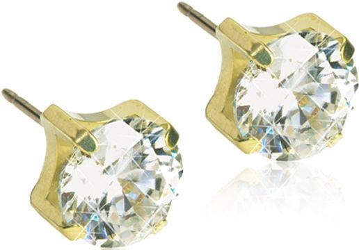 Blomdahl GT Tiffany 5mm CZ White par