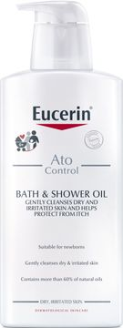 Eucerin AtoControl Bath & Shower Oil 400 ml