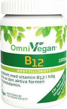 Omnisym Pharma Veg B12 Sugtablett, 120 st