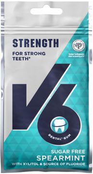 V6 Strong Teeth Fluor Spearmint 30 G
