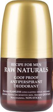 Raw Naturals Goof Proof Antiperspirant Deodorant 60 ml.