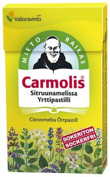 Carmolis Örtpastill Citronmelis Halstablett, 45 g