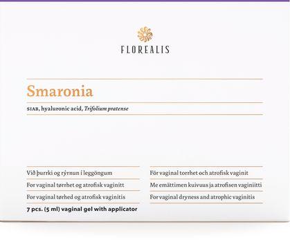 Florealis Smaronia Vaginal gel vid torra slemhinnor. 5 ml. 7 st