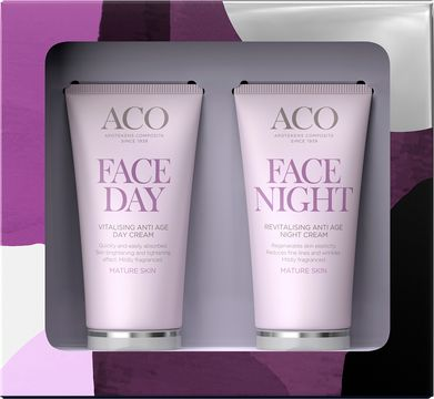 ACO Day & Night Cream Kit Ansiktsvårds-kit, 100 ml