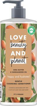 Love Beauty and Planet rengörande balsam Sheasmör och sandelträ. 500 ml