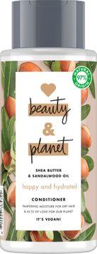 Love Beauty and Planet balsam För torrt hår. Sheasmör och sandelträ. 400 ml