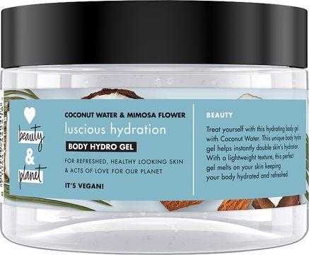 Love Beauty Planet kroppsgel Kokosvatten och mimosablomma. 250 ml