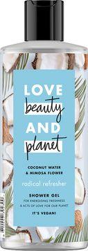 Love Beauty and Planet duschgel Kokosvatten och mimosablomma. 500 ml