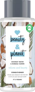 Love Beauty and Planet balsam Kokosvatten och mimosablomma. 400 ml