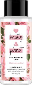 Love Beauty and Planet balsam Murumuru-smör och bulgarisk ros. 400 ml