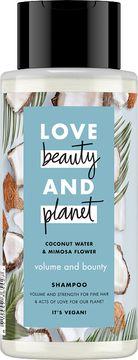 Love Beauty and Planet schampo Kokosvatten och mimosablomma. 400 ml