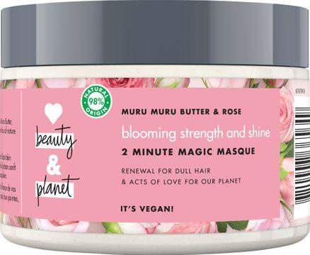 Love Beauty and Planet hårmask Murumuru-smör och bulgarisk ros. 300 ml