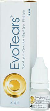EvoTears smörjande ögondroppar Ögondroppar, 3 ml