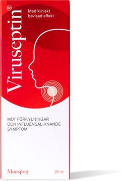 Viruseptin Munspray Munspray mot förkylning, 20 ml