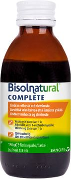 Bisolnatural Complete Hostsirap Hostmedicin, 133 ml