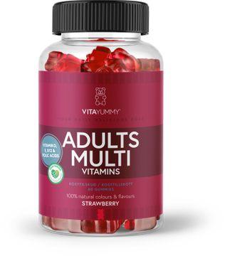 VitaYummy Adults Multivitamin Tuggummi, 60 st