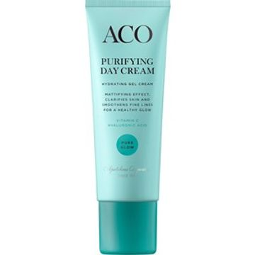 ACO Pure glow Purifying Day Cream Dagkräm, 50 ml