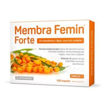 Membra Femin Forte Elexir Pharma Kosttillskott 120 st