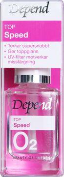 Depend O2 Top Speed Nagellack, 11 ml