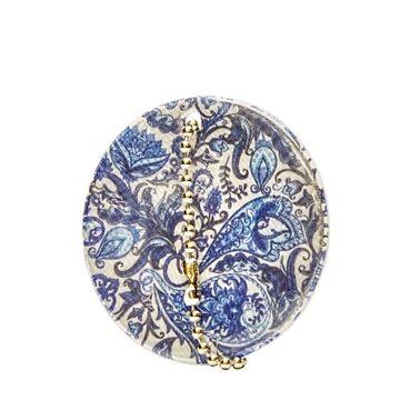 Reflex Romantisk blå paisley Reflex 75x130x4