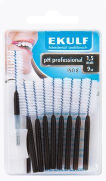 EKULF pH professional 1,5 mm, 9 st