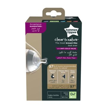 Tommee Tippee Closer To Nature 150 ml Nappflaska, 1 st