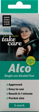savelivesnow.com Alco Alcohol Test 2 ST