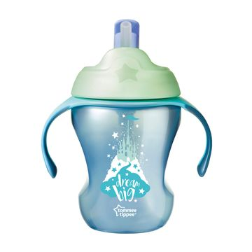 Tommee Tippee Explora Easy Drink Straw Cup 230 ml Drickmugg, 1 st