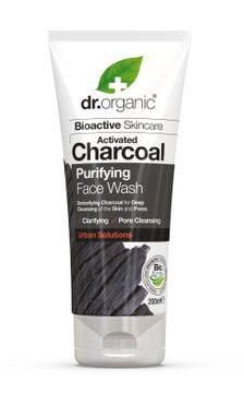 Dr Organic Ansiktstvätt Aktivt Kol Ansiktsrengöring, 200 ml