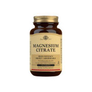 SOLGAR Magnesium Citrate 120 st