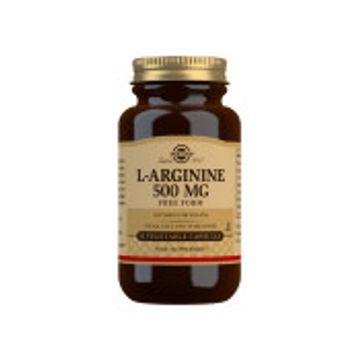 SOLGAR L-Arginine 500mg 50 kaps