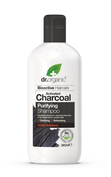 Dr Organic Schampo Aktivt Kol Schampo, 265 ml