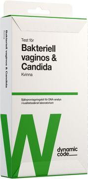 Dynamic Code Bakteriell Vaginos & Candida Test med självprovtagning, 1 st